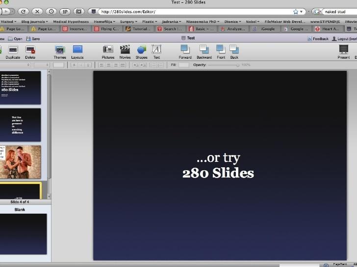 280 slides studio