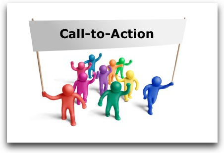 call to action, presentation, marketing, public speaking