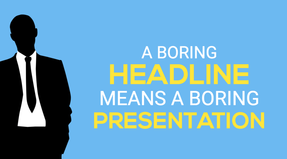 91 Awesome Headline Formulas To Make Your Presentations