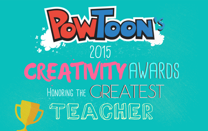 the most creative teacher is by powtoon