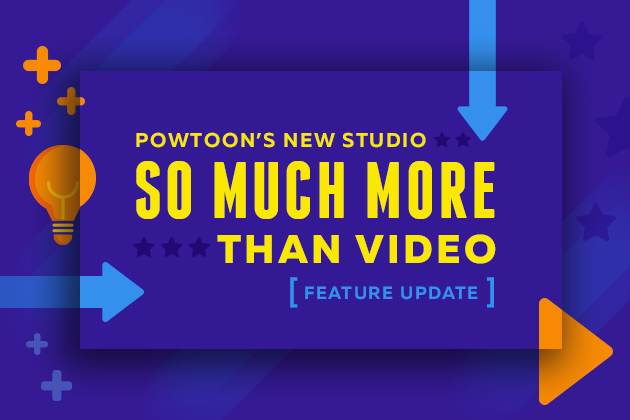 Powtoon's new studio feature update