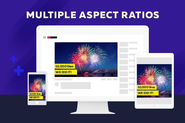 Video feature update Multiple Aspect Ratios
