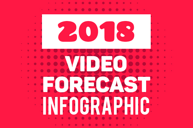 2018 video forecast infographic
