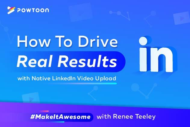 native linkedin video upload