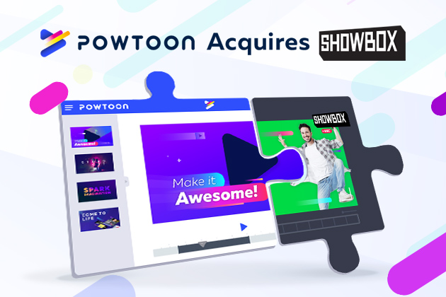 Powtoon Acquires Showbox to Speed Up The Future of Video