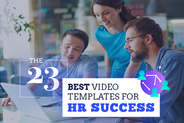 23 best video templates for hr success