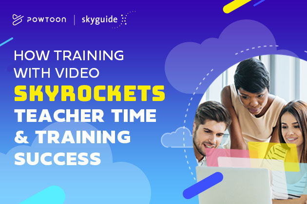 how training with video skyrockets teacher time and training success with Roland from Skyguide