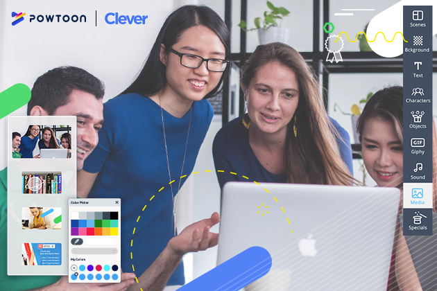 Powtoon partners with Clever