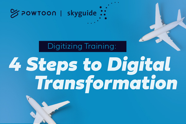 Digitizing Training: 4 Steps to Digital Transformation [SkyGuide]