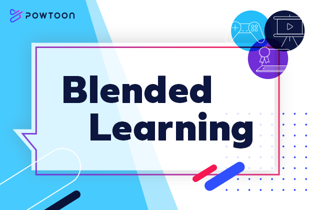 The power of blended learninng isn't just for the classroom, it's for the office too. 4 L& experts share the benefits of using blended learning and Powtoon