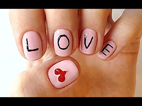 nail polish that spells love