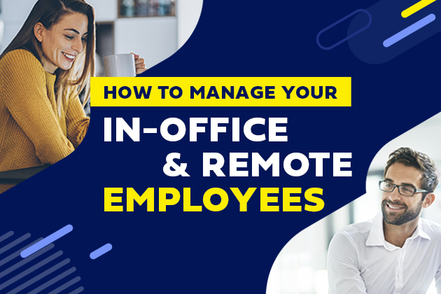 how to manage your in-office and remote employees with video and visual communications