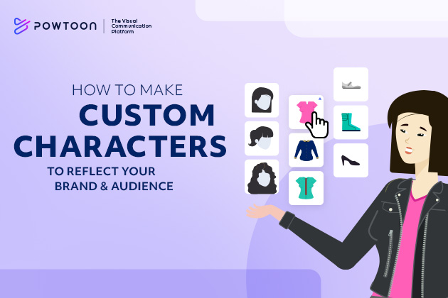 How to create custom characters that reflect your brand and audience.