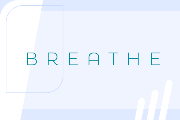 using white space lets the visuals in your video breathe!