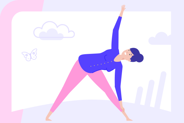 no, this isn't a yoga tip! It's a design tip - make sure your assets are aligned, sloppy edges and misaligned text is a death sentence for any design