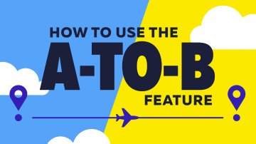 how to use the a to b feature tutorial