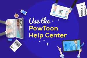 powtoon help center tutorial