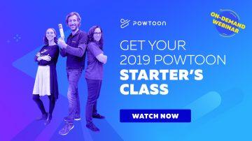 powtoon's on-demand starter's class webinar