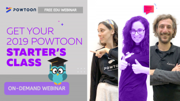 powtoon starters class edu edition on demand webinar