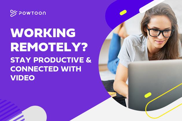 working remoltely how to stay productive and connected with video