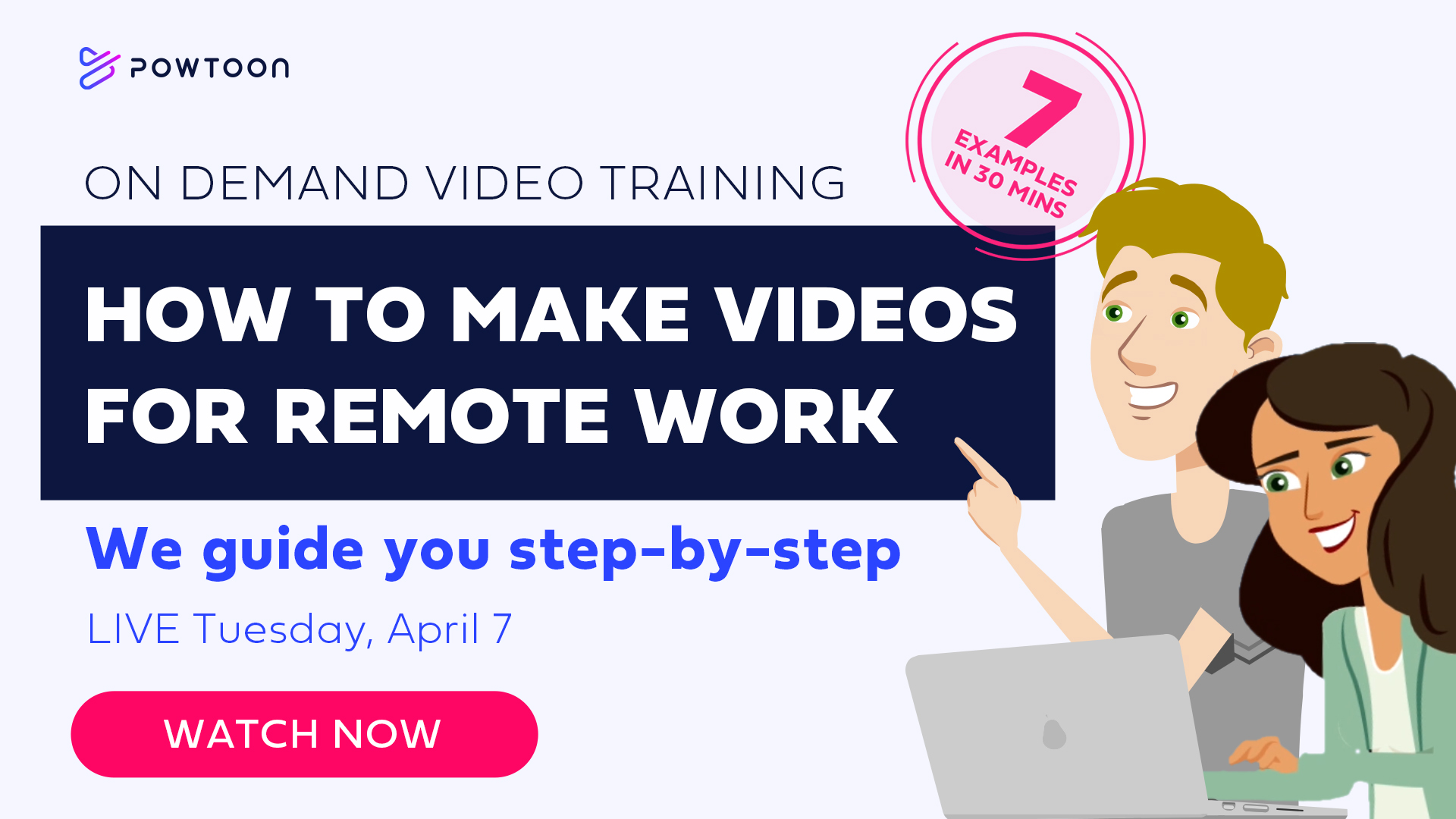 on demand video training 7 videos for remote work