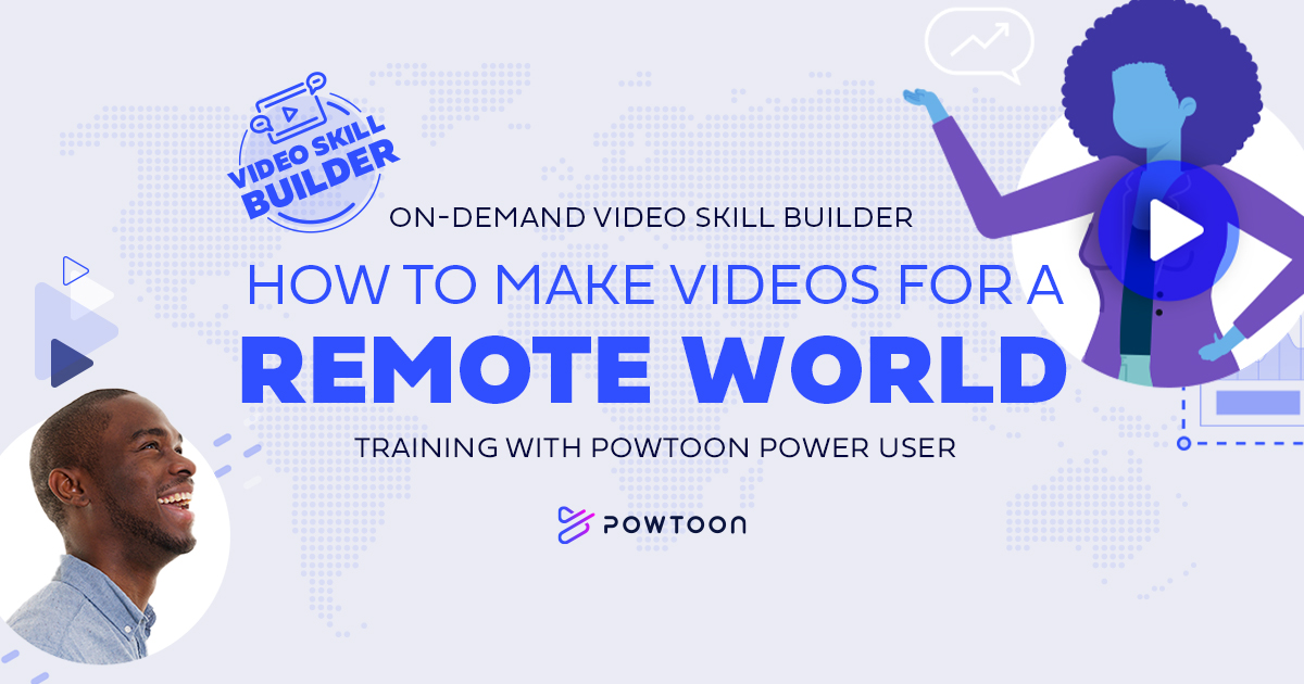 video skill builder on demand video training making video for the remote world