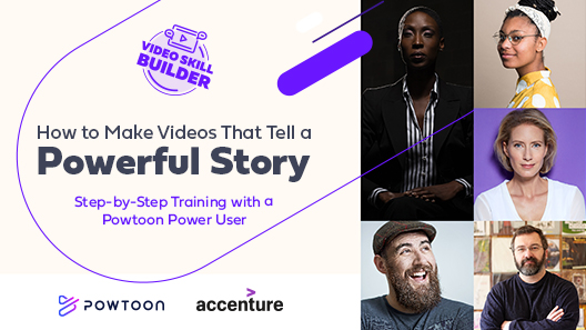 how to make videos that tell a powerful story on demand powtoon skill builder webinar