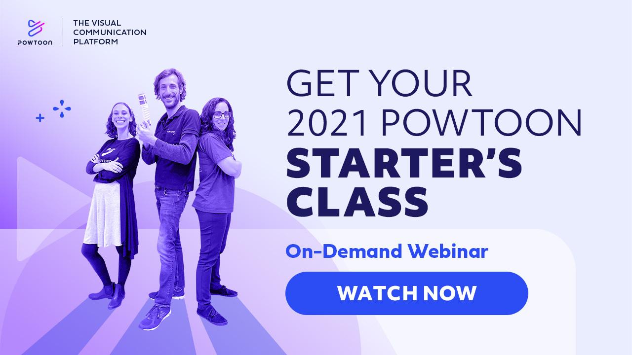powtoon starters class on demand webinar