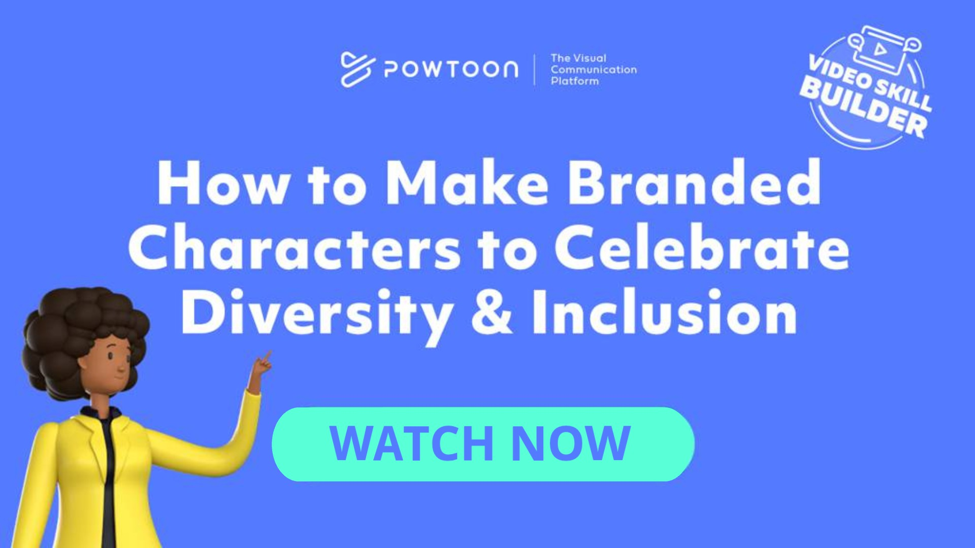 how to build branded characters to celebrate diversity & inclusion