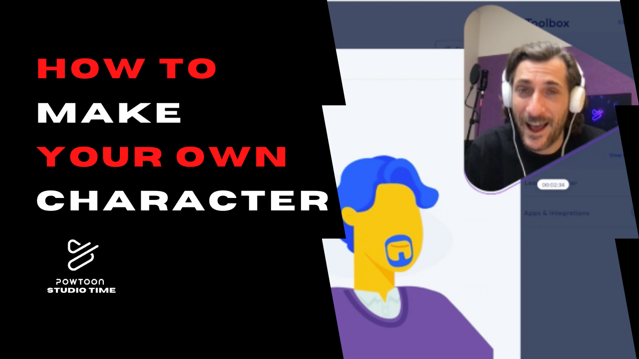 how to make your own animated character