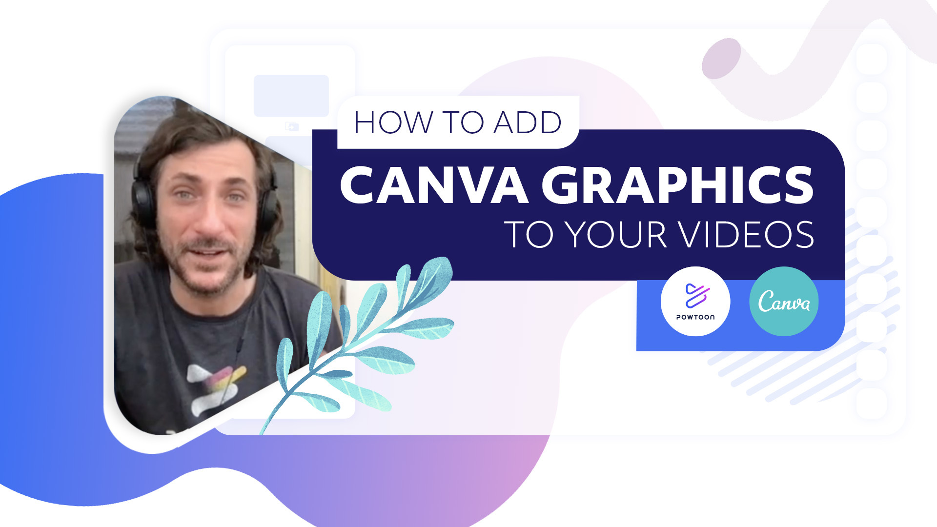 How to add canva graphics to your videos