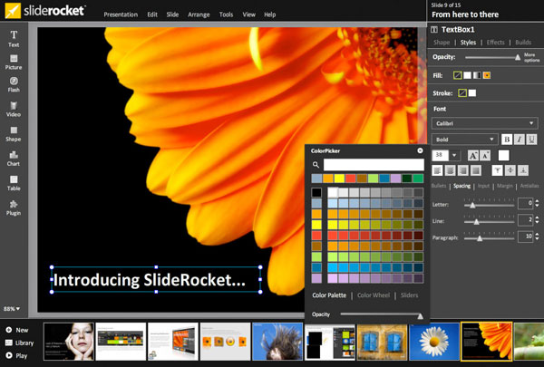 10 Best PowerPoint Alternatives: SlideRocket