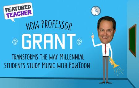 Professor-grant uses Powtoon